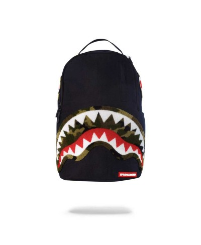 Zaino Camo Chenille Shark...