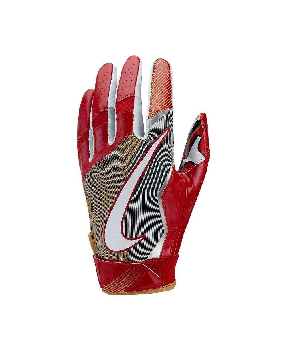 factory outlet no sale tax super cute Vapor Jet 4 On-Field Herren American Football Handschuhe NFL 49ers