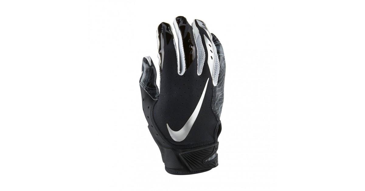 f4a4fbdb7ab Nike Vapor Jet 5 Men s American Football Gloves Black