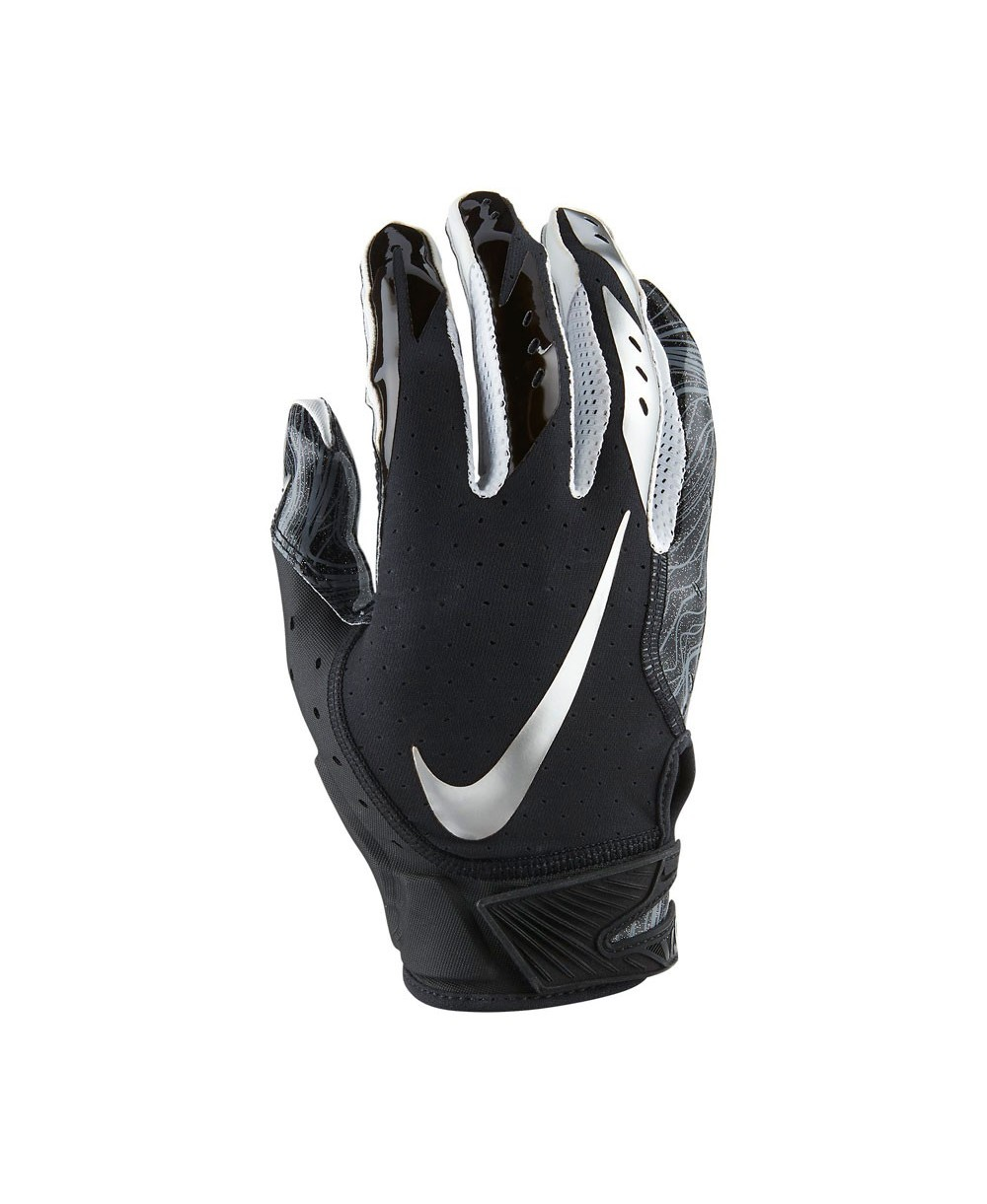 Nike Vapor Jet 5 Men s American Football Gloves Black 052e886bf