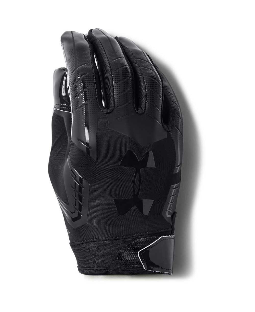 Under Armour F6 Men s American Football Gloves Black 3854fb06d6
