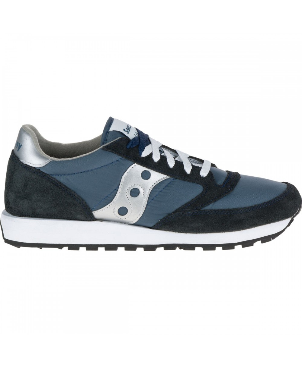a26480ec1a3a Saucony Men s Jazz Original Sneakers Shoes Navy Silver
