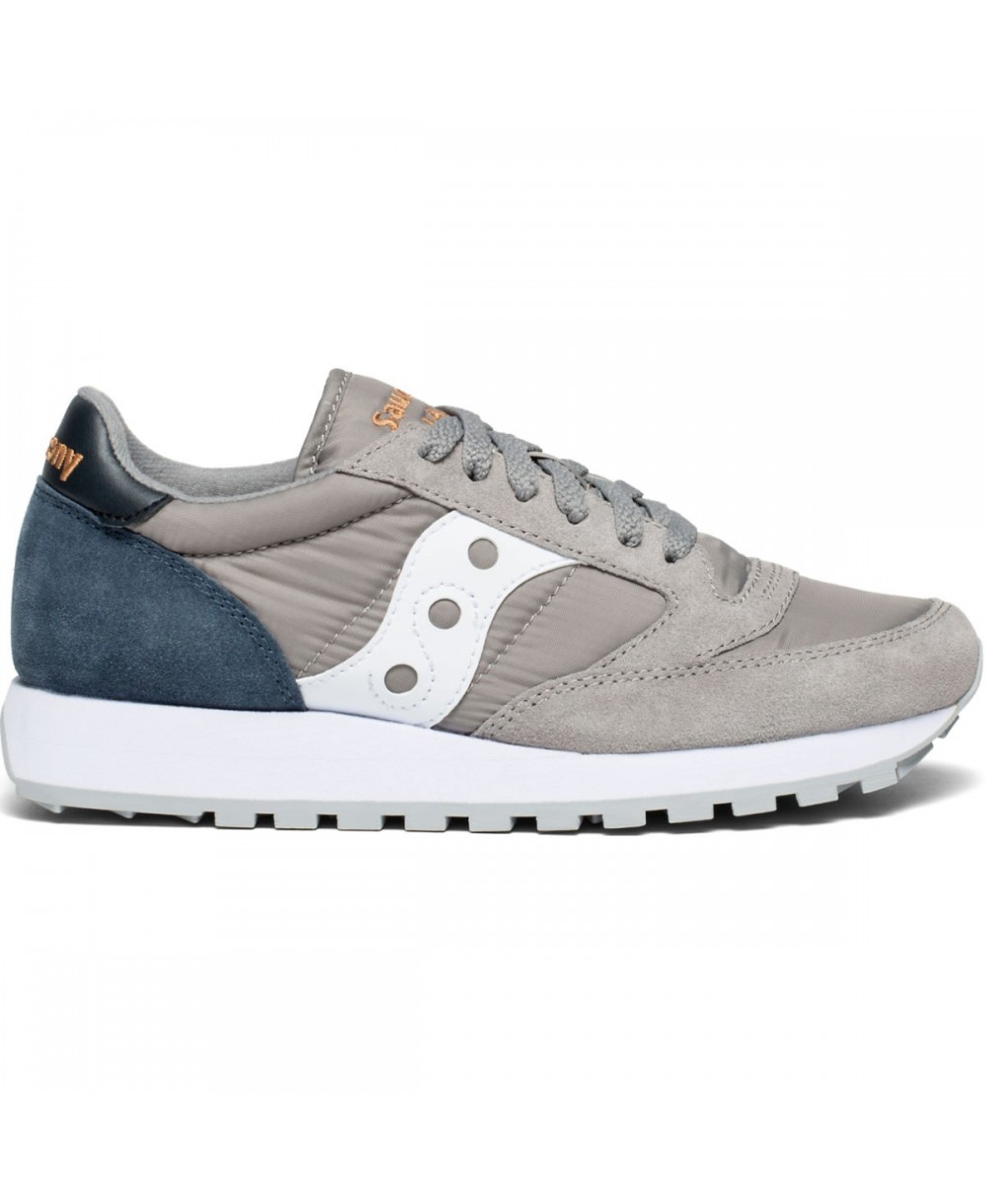 63c4a214d9e3 Saucony Women s Jazz Original Sneakers Shoes Grey Navy