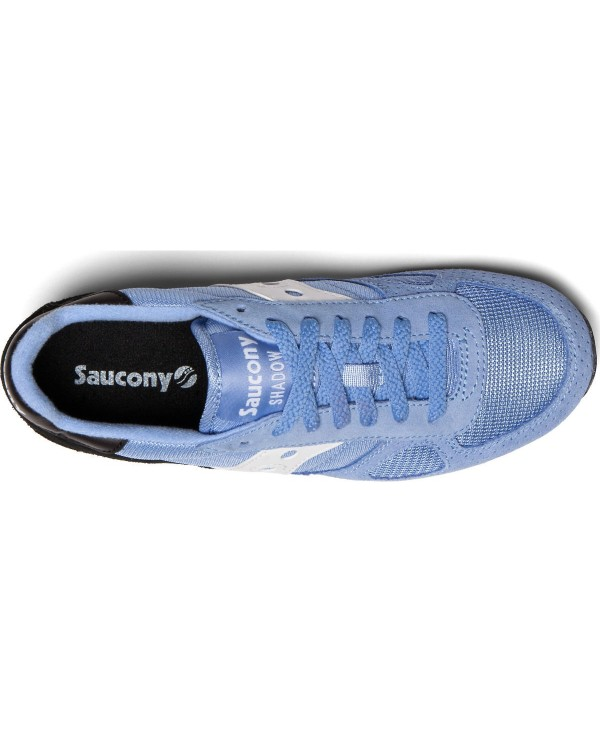 61b4df1c Saucony - Zapatos sneakers para mujer, modelo Shadow Original, color Blue/ Black