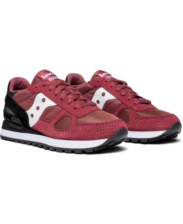 894c0160 Saucony - Zapatos sneakers para mujer, modelo Shadow Original, color Maroon/ Black