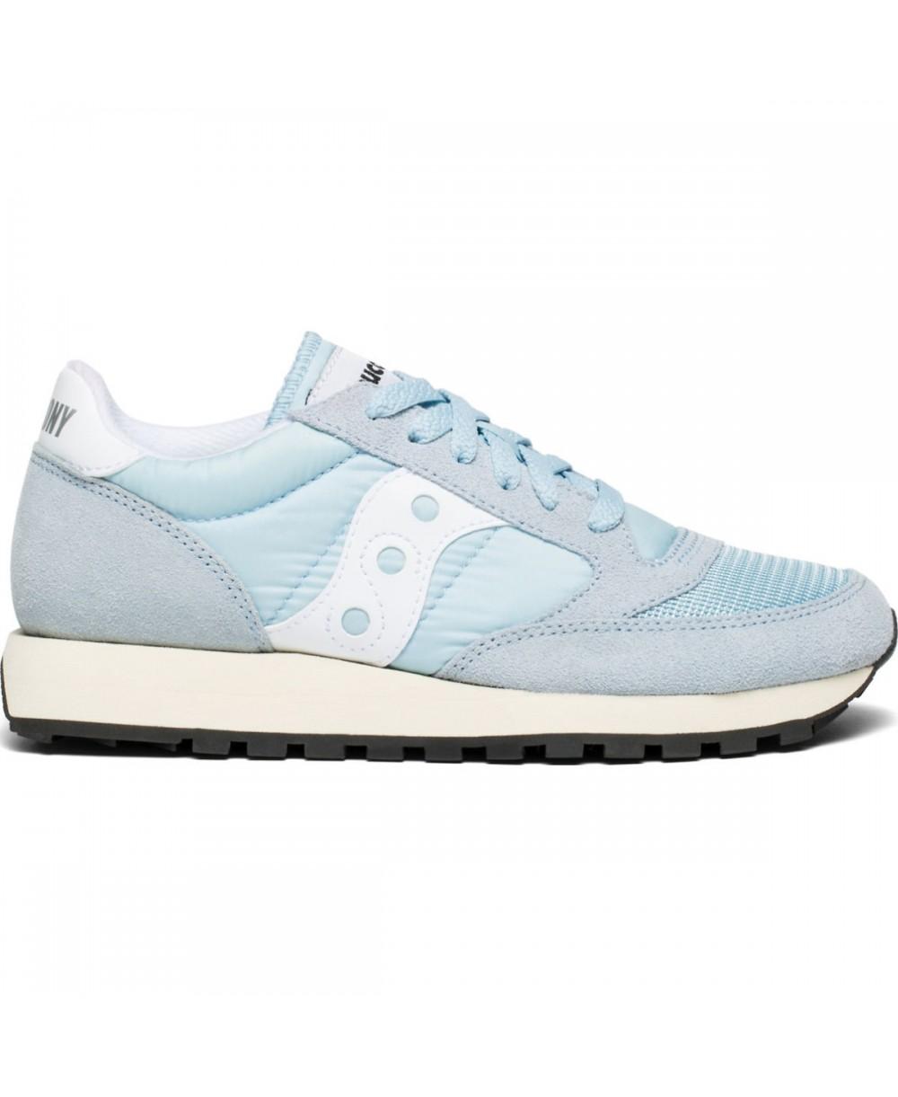 super popular c2488 5d6e6 Saucony Jazz Original Vintage Chaussures Sneakers Femme Blue White