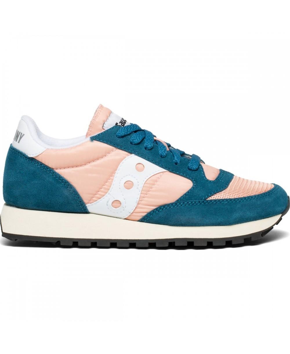 Saucony Navy Blue & Orange Jazz Original Vintage Sneaker