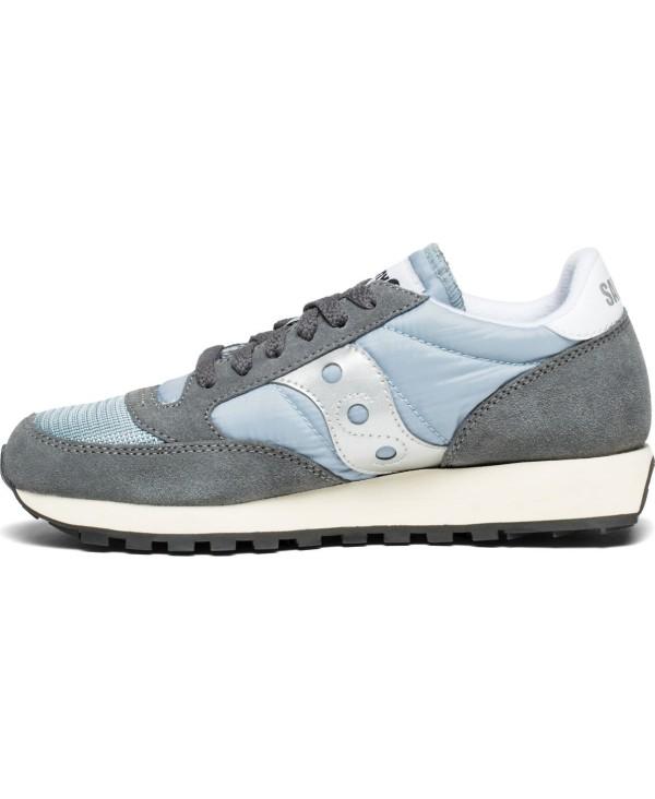9195dd4f Saucony - Zapatos sneakers para mujer, modelo Jazz Original Vintage, color  Grey/Blue/White