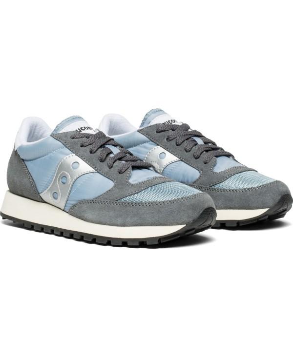 Schuhe Sneakers Vintage Greybluewhite Original Damen Jazz TKJcFl1