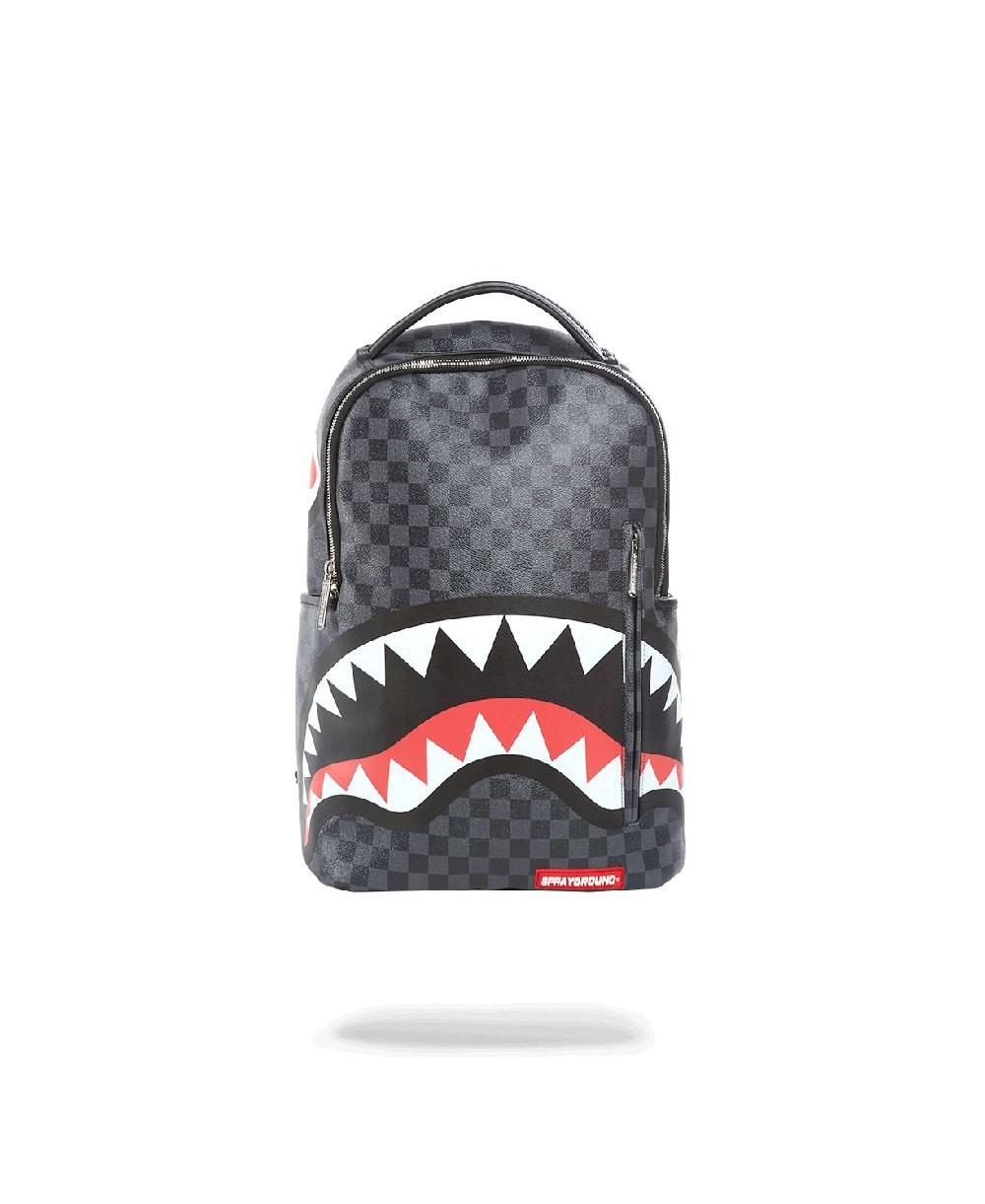 bd27c02c3 Sprayground Sharks in Paris Backpack Black