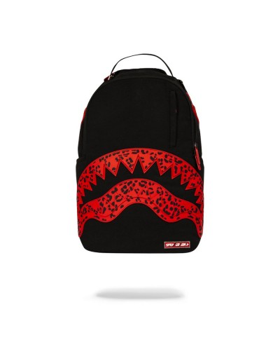 Zaino Red Leopard Rubber Shark
